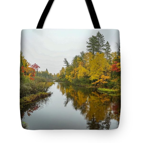Reflections In Autumn Tote Bag