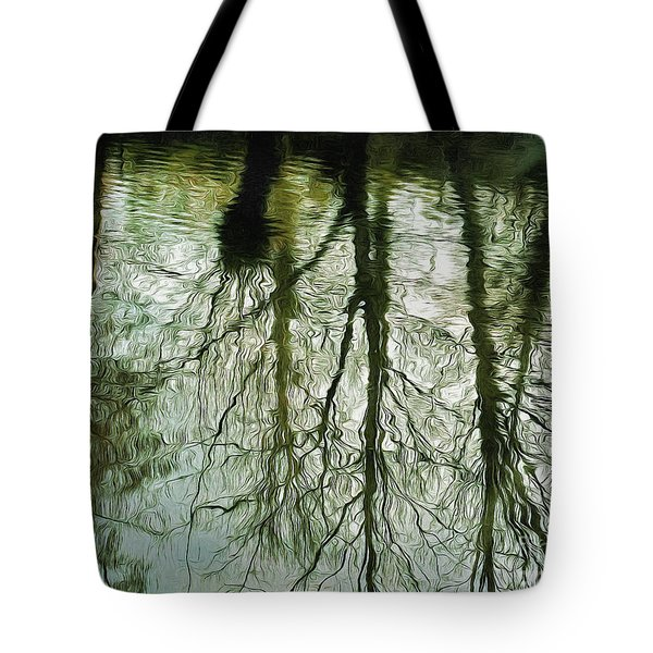 Tote Bag featuring the photograph Reflections by Leigh Kemp