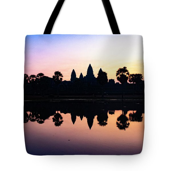 Reflections Of Angkor Wat - Siem Reap, Cambodia Tote Bag