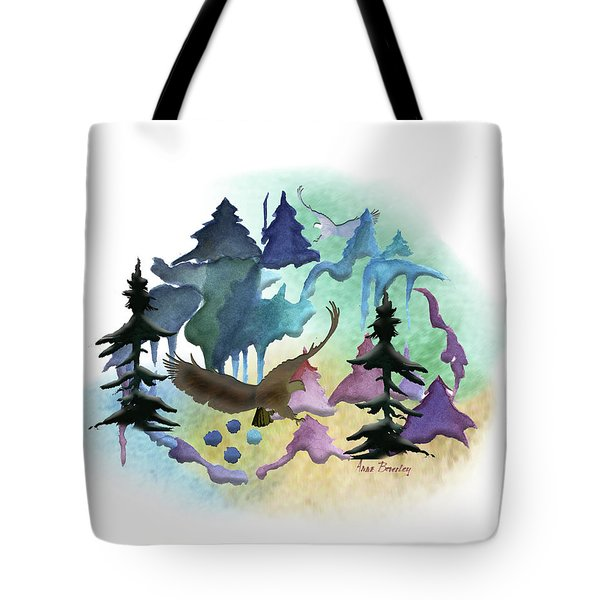 Reflections Of Port Townsend Tote Bag