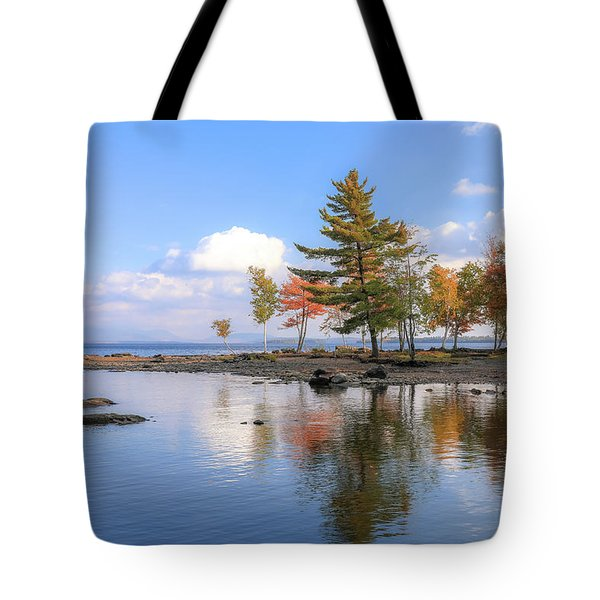 Reflections On Moosehead Lake Tote Bag