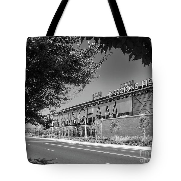 Regions Field Home Of The Barons Tote Bag