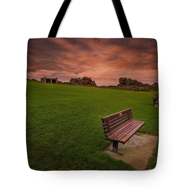 Relaxing At St Ives Cornwall Tote Bag