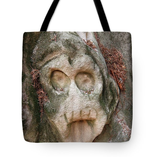Reliefs Of Stone Hollow Road, Czech Republic Tote Bag
