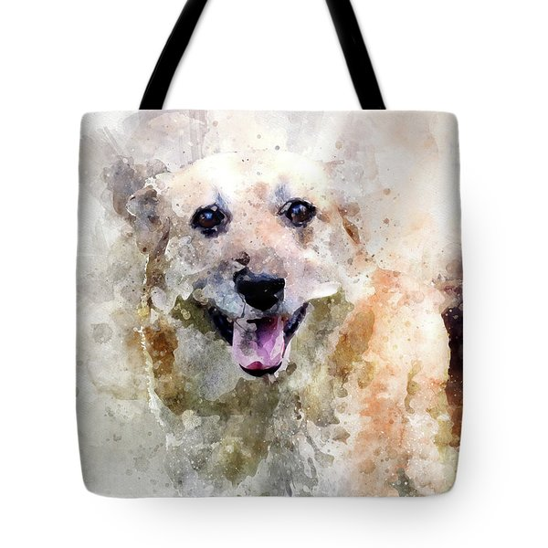 Remember The Four-legged Smile Tote Bag