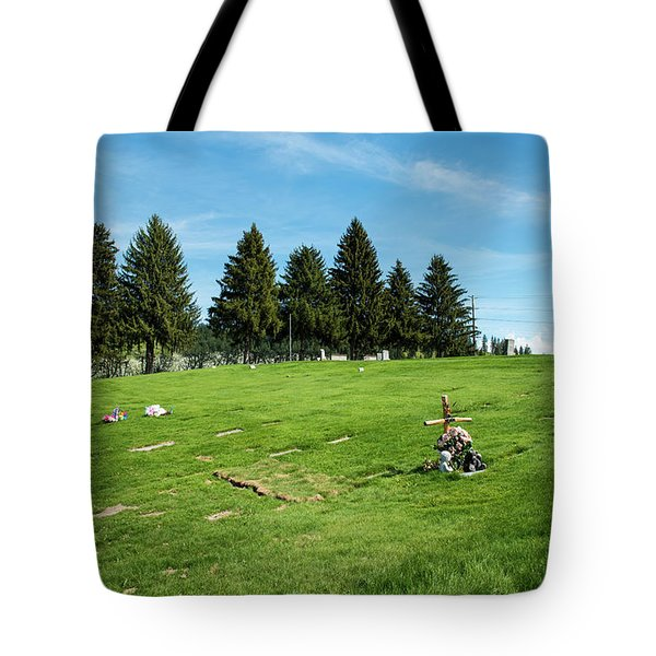 Remembering A Child In Peshastin Tote Bag