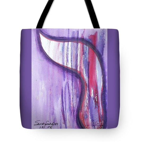 Tote Bag featuring the painting Resh R1 by Hebrewletters Sl