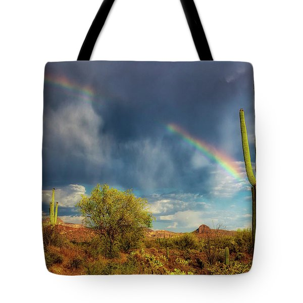 Tote Bag featuring the photograph Respite From The Storm by Rick Furmanek