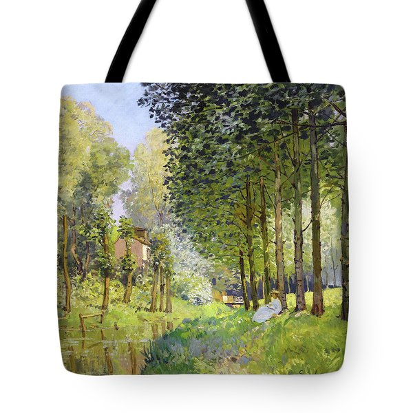 Rest Along The Stream - Digital Remastered Edition Tote Bag