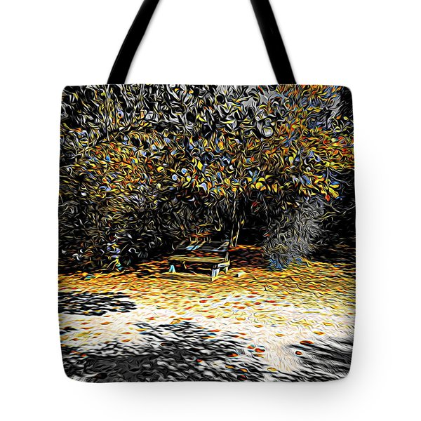 Resting Reflections Tote Bag