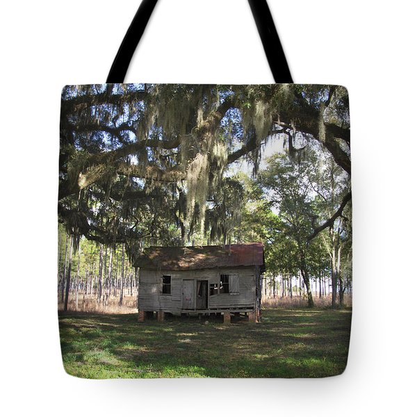 Resting Under The Big Shade Trees Tote Bag