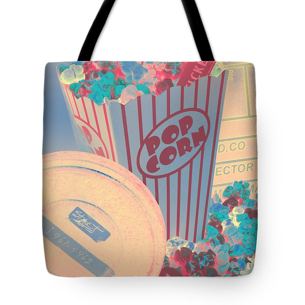 Retro Flicks Tote Bag