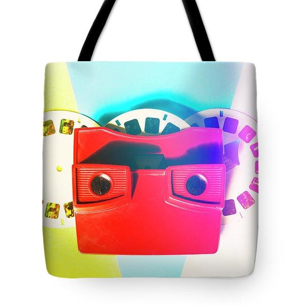 Retro Reel Tote Bag