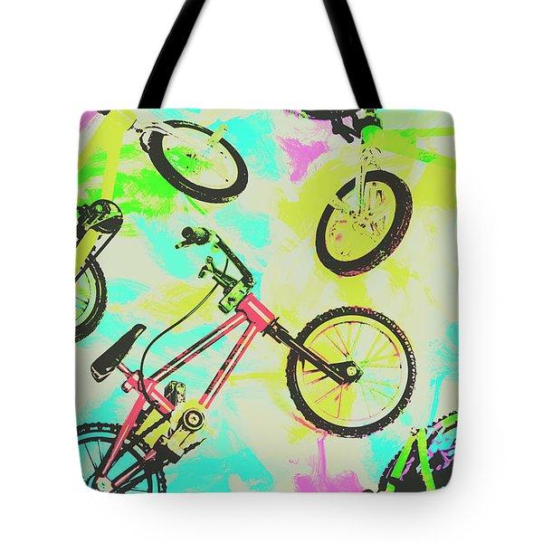 Retro Rides Tote Bag