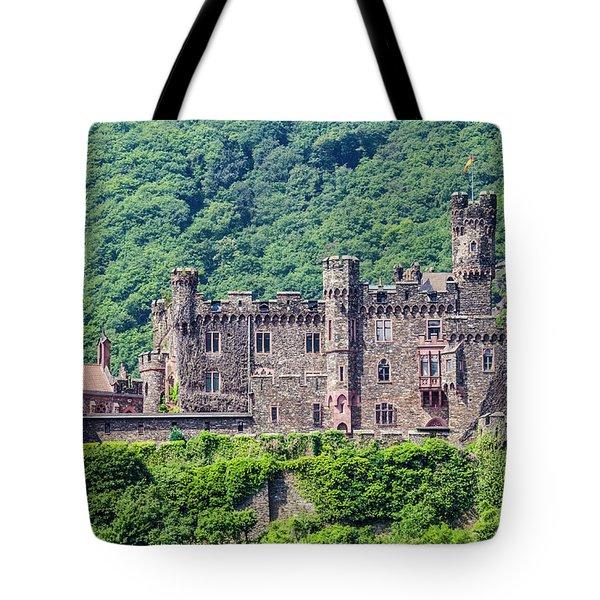 Rheinstein Castle - 2 Tote Bag