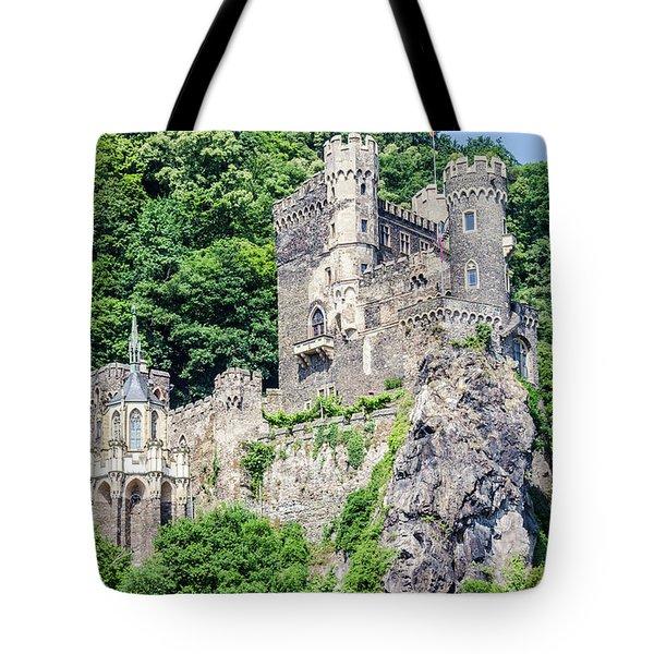 Rheinstein Castle Tote Bag