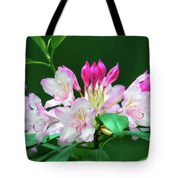 Tote Bag featuring the photograph Rhododendron 2 by Leland D Howard