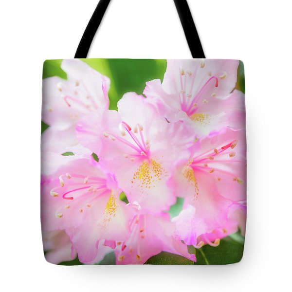 Tote Bag featuring the photograph Rhododendron 4 by Leland D Howard