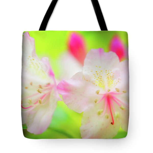 Tote Bag featuring the photograph Rhododendron 5 by Leland D Howard