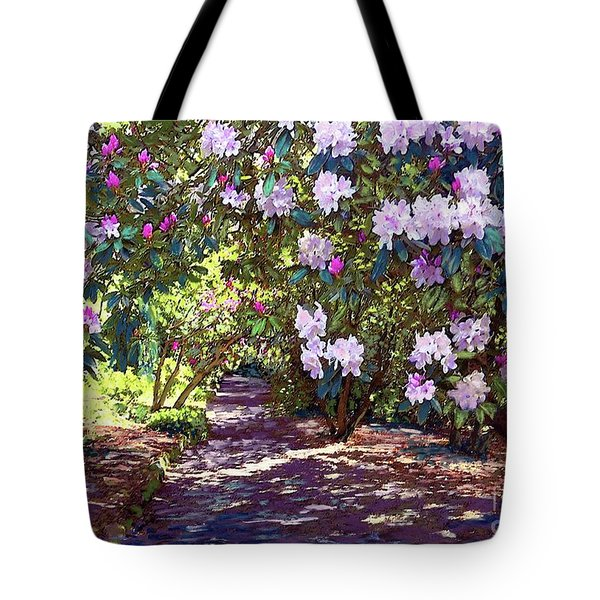 Rhododendron Garden Tote Bag