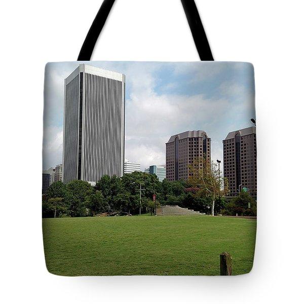 Richmond Cityscape Tote Bag
