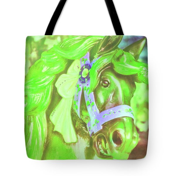 Ride Of Old Greens Tote Bag