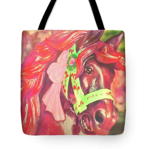 Ride Of Old Pinks Tote Bag