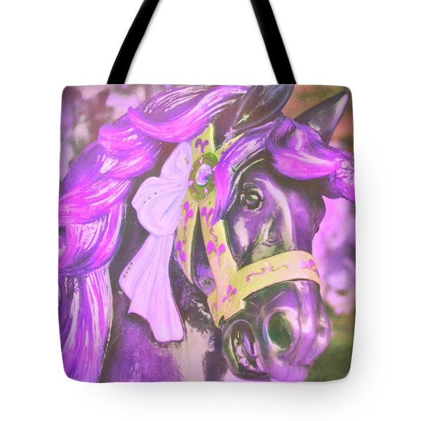 Ride Of Old Purples Tote Bag