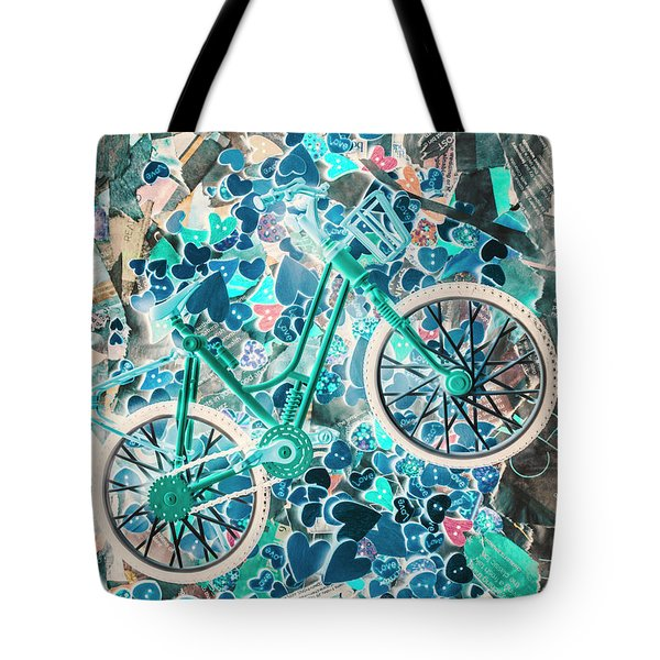 Ride Of Romance Tote Bag