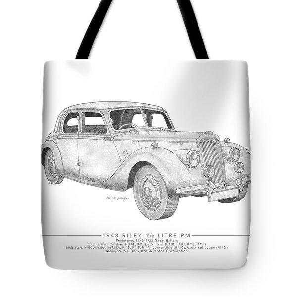 Riley 1.5 Litre Rm Saloon Tote Bag