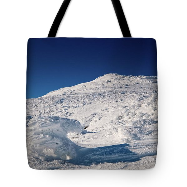 Rime And Snow, And Mountain Trolls. Tote Bag