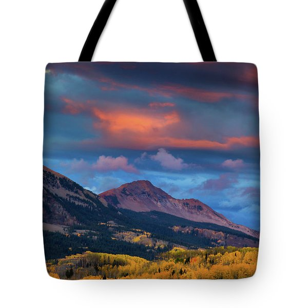 Rising Color  Tote Bag