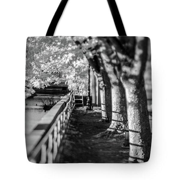 River Lines Tote Bag