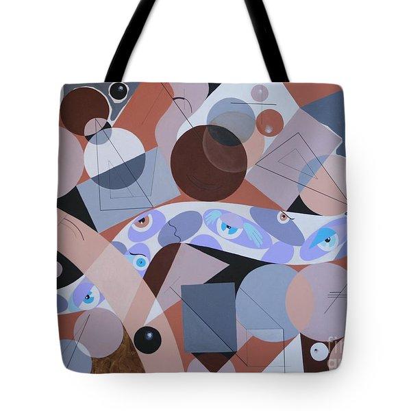 River Of Eyes Tote Bag