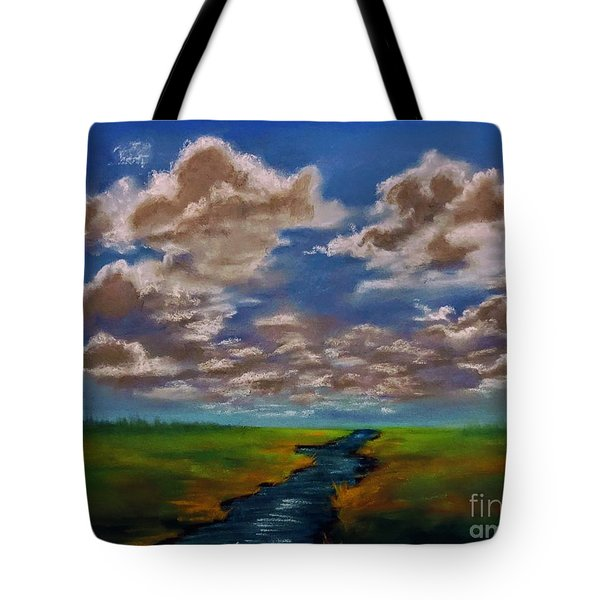 River To Nowhere Tote Bag