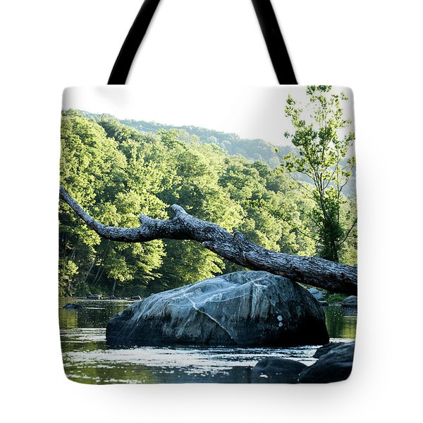 River Tree Tote Bag