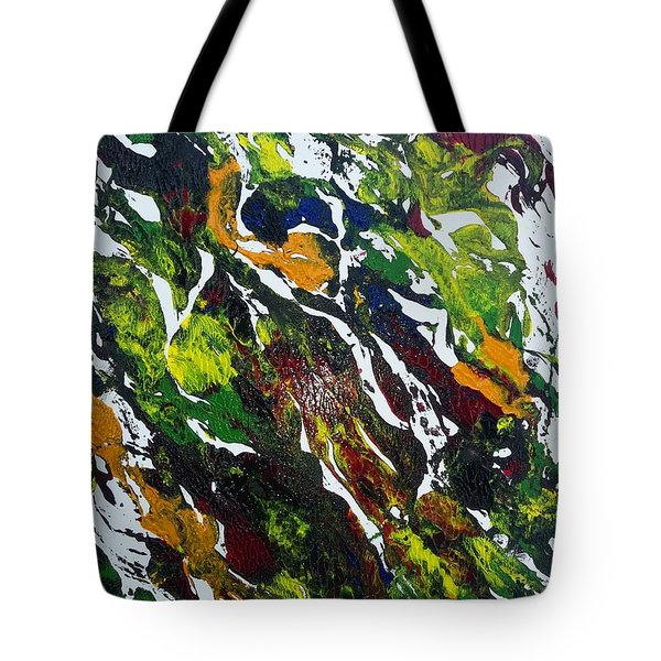 Rivers And Valleys Tote Bag