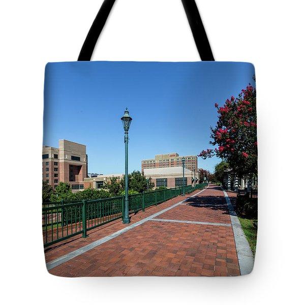 Riverwalk Downtown Augusta Ga Tote Bag