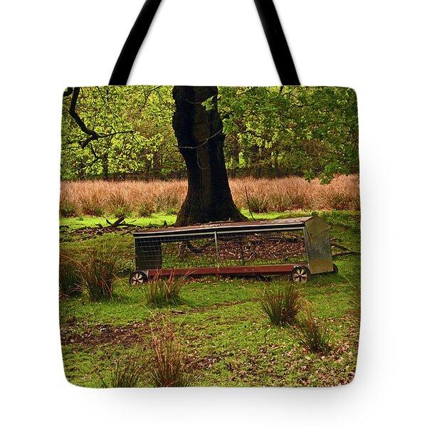Rivington. Terraced Gardens. Feeding Trough. Tote Bag