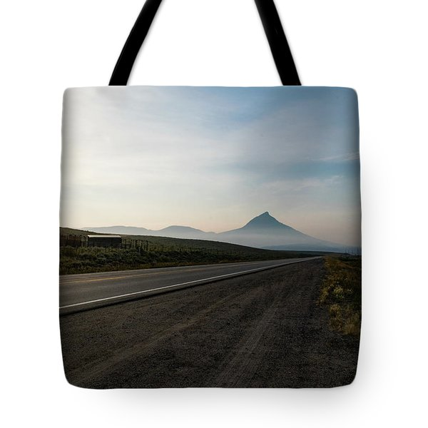 Road Through The Rockies Tote Bag