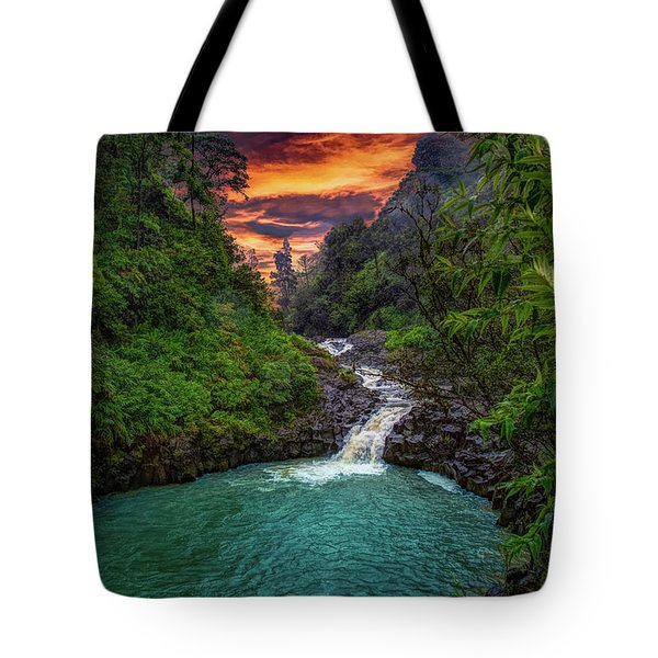 Road To Hana, Hi Tote Bag