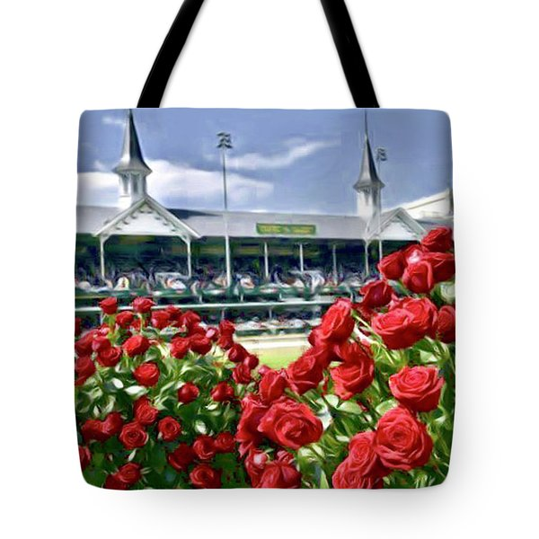 Road To The Roses Tote Bag