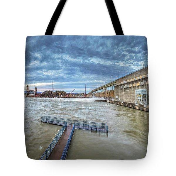 Roaring River Below Chickamauga Dam Tote Bag