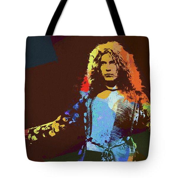 Robert Plant Tribute Tote Bag