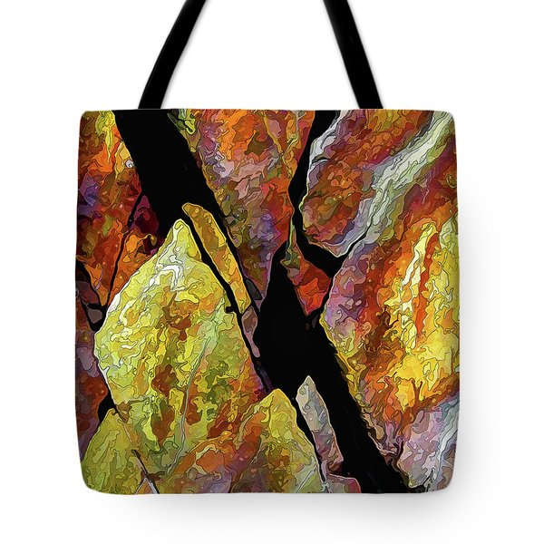 Rock Art 17 Tote Bag