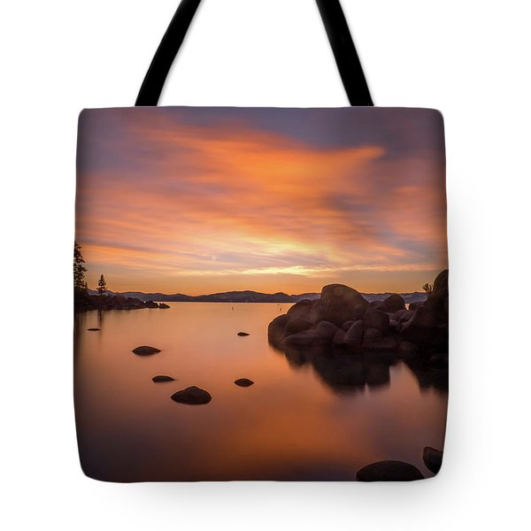 Rock Balance Tote Bag