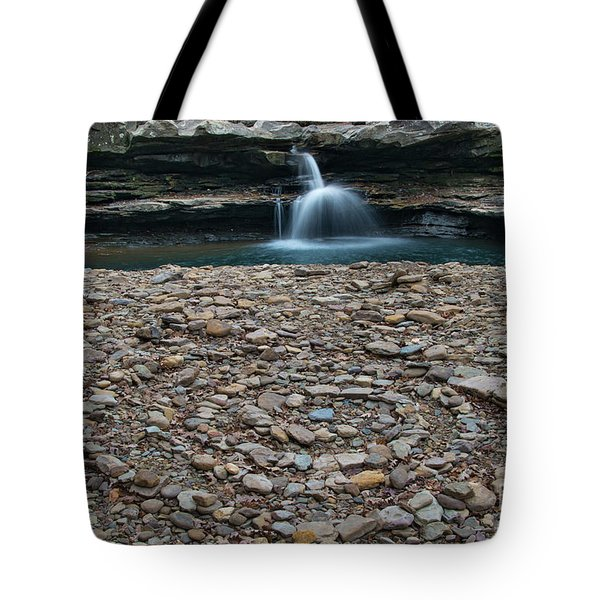 Tote Bag featuring the photograph Rock Circle by Joe Sparks
