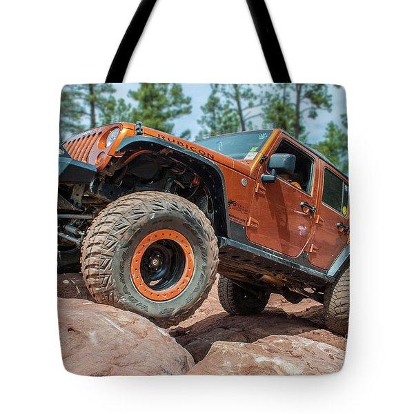 Rock Crawlin Tote Bag