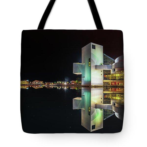 Rock Hall Reflections  Tote Bag