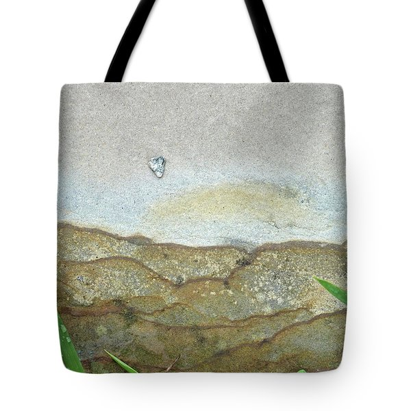 Rock Stain Abstract 5 Tote Bag